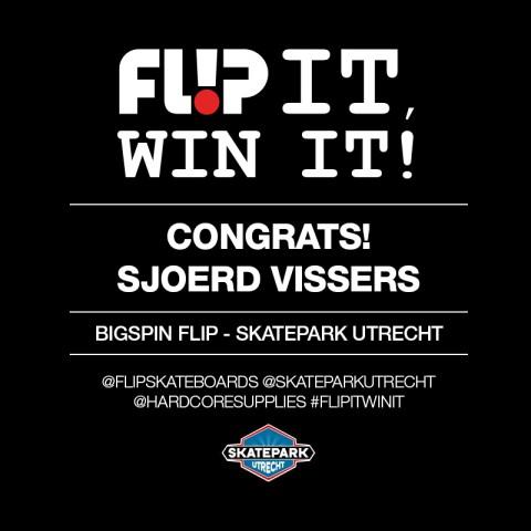 Congrats Sjoerd Vissers