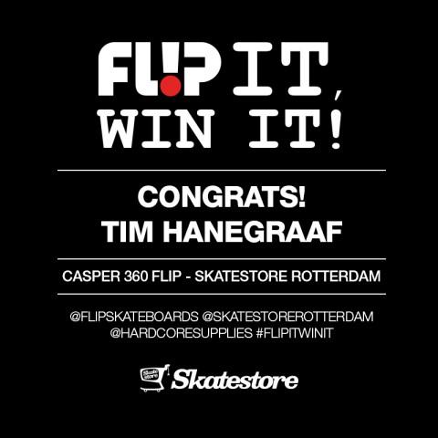 Congrats Tim Hanegraaf