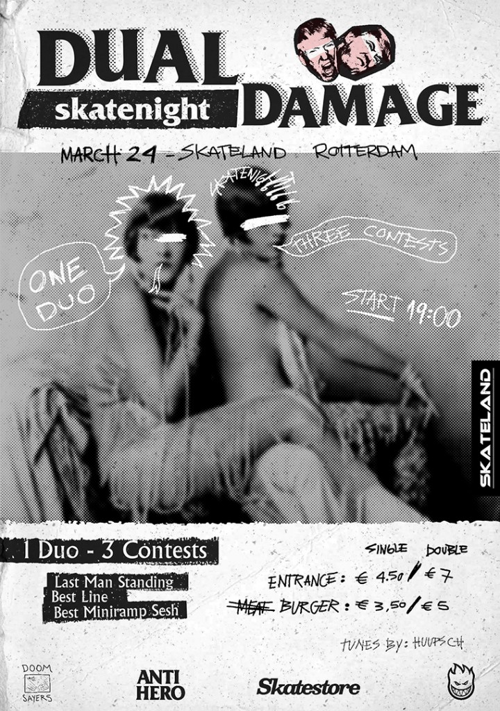 DualDamage Skatenight